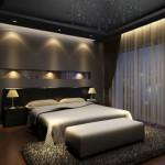 6-decor sobru minimalist dormitor modern finisat in nuante de gri si negru