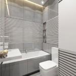 6-design baie moderna minimalista amenajata si finisata in nuante de gri
