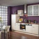 6-design bucatarie frumoasa moderna alb cu mov