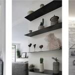 6-detalii decor pereti placati cu caramida aparenta apartament modern Notting Hill Londra