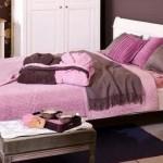 6-dormitor amenajat si decorat in roz cu maro