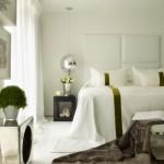 6-dormitor finisat si decorat in alb cu subtile accente verde olive