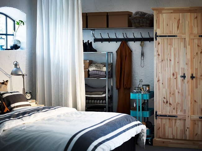 6-dormitor mic amenajat in stil rustic nordic