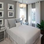 6-draperii albe decor living clasic modern amenajat in alb si gri