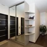 6-dressing cu usi placate cu oglinzi hol intrare apartament modern