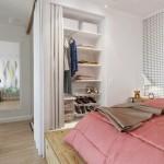 6-dressing incastrat in perete dormitor apartament mic 45 mp