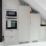 6-dulapuri bucatarie design rustic confectionate din lemn masiv culoare gri