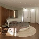 6-exemplu amenajare dormitor cu pat rotund