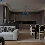 6-exemplu de imbinare a gresiei cu parchetul fara prag metalic living modern open space