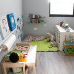 6-exemplu organizare si accesorizare camera copil principii Montessori