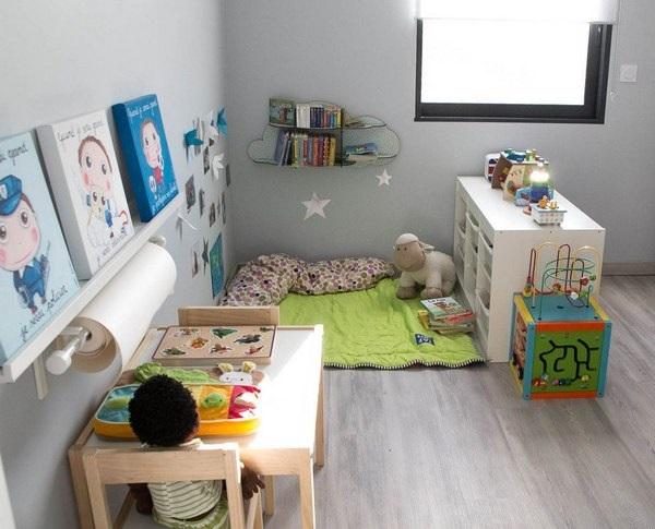 Camere Montessoriane : 6 exemplu organizare si accesorizare camera copil principii