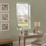 6-fereastra ghilotina tamplarie PVC alba glisare verticala