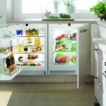 6-frigider si congelator integrate sub blatul de lucru din bucatarie