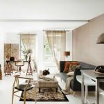 6-galerie perdea fixata de tavan decor living modern mic