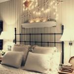 6-ghirlanda luminoasa din instalatie pom si stele de mare decor de vara pentru dormitor