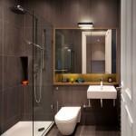 6-idee amenajare baie mica apartament stil minimalist model 2019