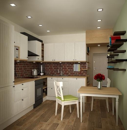 6-idei amenajare bucatarie pe holul apartamentului