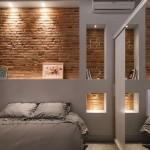 6-iluminat decorativ intergat in constructiile din gips carton de pe perete dormitor