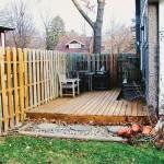 6-inainte de amenajare terasa din lemn veche