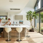 6-interior bucatarie open space casa Amfibie care se transforma in locuinta plutitoare