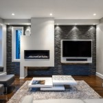 6-living modern minimalist cu un perete de accent placat cu piatra decorativa gri