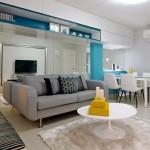6-living modern multifunctional in alb gri si bleu