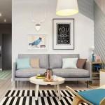 6-living modern scandinav apartament 2 camere 41 mp Moscova