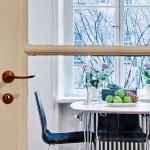 6-loc de luat masa bucatarie apartament de 48 mp