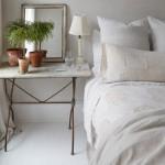 6-masuta structura fier blat marmura decor dormtior rustic