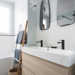 6-mobila baie suspendata culoare stejar amenajare stil scandinav