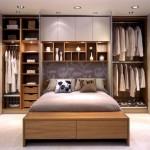 6-model dulap haine bine compartimentat cu pat rabatabil la perete inclus