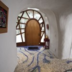 6-pardoseala mozaic intrare casa in forma de ciuperca