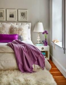 6-pat alb elegant decor dormitor amenajat in stil modern