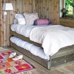 6-paturi supraetajate casuta din lemn 10 mp