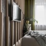 6-perete decorat cu elemente din lemn dormitor modern mic