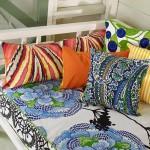 6-pernute decorative in huse multicolore decor foisor vesel si colorat