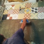 6-placi gresie mozaicata din ciment pictata manual