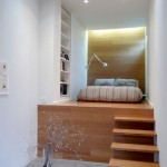 6-platforma inaltata dormitor mic pat cu posibilitate intergrare spatiu depozitare dedesubt
