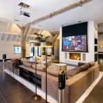 6-proiector video amenajare living frumos fara televizor
