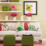 6-rafturi pentru depozitarea tablourilor si decoratiunilor din living
