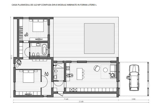 6-schita casa modulara 112 mp pe colt