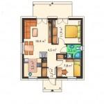 6-schita plan compartimentare interioara casa mica 53 mp