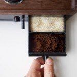6-sertar pentru zahar si cafea ceas desteptator cafetiera