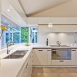 6-spoturi de iluminat in zona blatului de lucru din bucatarie