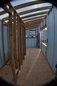 6-strat interior izolatie casa mica structura lemn