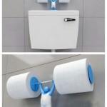 6-suport dublu de hartie igienica in forma unui halterofil