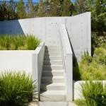 6-trepte din beton acces casuta 16 mp din copac