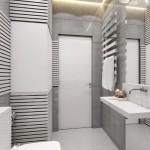 7-alt unghi baie moderna apartament 35 mp amenajata in nuante de gri