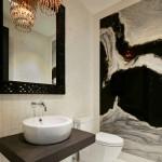 7-amenajare baie moderna cu accente decorative in stil art deco