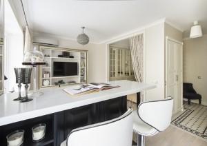 7-apartament art decor decorat in alb si negru
